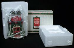 Nib 1995 Coca Cola The North Pole Bottling Works The Front Office 70001 Diorama