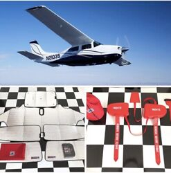 Sunshield And Cowl Plugs For Aircraft - Cessna T210n