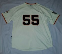 San Francisco Giants Size 52 Nwt's Signed Tim Lincecum Jersey Beckett Certified