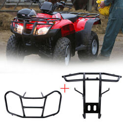 Front Rack Front Carrier And Front Bumper For Honda 2005-2016 Trx 250 Trx250 Recon