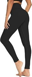 Oxzno High Waisted Yoga Pants For Women Lightweight Workout Running Compression