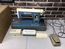 Dressmaker Vintage Sewing Machine In Working Condition Kenmore Motor Acce