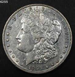 1895-s Morgan Silver Dollar Au+ Free S/h After 1st Item