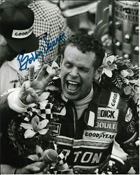 Bobby Unser Signed 8x10 Photo Indy Indianapolis 500 Car Racing Winner Al Ims