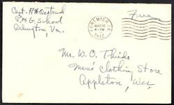WWII Sailor#x27;s Mail USS BOSTON CA 69 TF 38 Pacific War 1945 Naval Cover M2124y