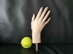 Old 1970's Right Female Mannequin Hand Realistic Ex. Details