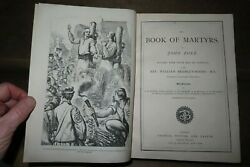 1870 The Book Of Martyrs By John Foxe And Bradley Moore Protestant Reformation