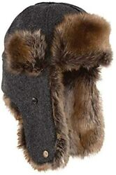 Stormy Kromer Northwoods Trapper Hat - Insulated Wool Winter Hat With Ear Flaps