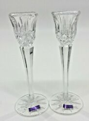 Marquis by Waterford Crystal Haven Candlestick Set Pair