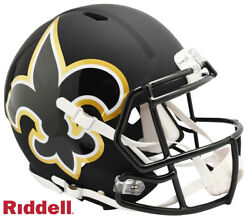 New Orleans Saints Full Size Amp Authentic Speed Helmet New In Box 25769