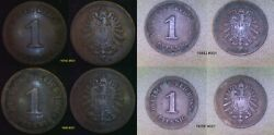 Germany 1 Pf Pfennig 1874 - 1918 Empire Period Discounts Up To 50 For 4+ Coins