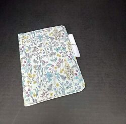 A6 Size Cover For Hobonichi Planners Liberty Fabric Cover Blooming Flowers With $45.07