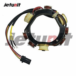 Stator Johnson Evinrude Outboard 1992-199640-50hp 1993-200150,60/70hp3cyl