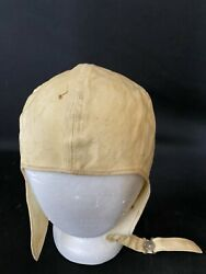 Vintage Motorcycle Buco Cloth Riding Hat For Harley Davidson And Indian Riders