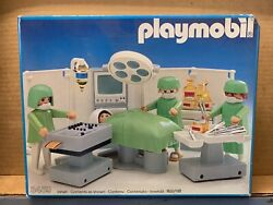 Playmobil 3459 Operating Room - Mint In Box Vintage 1985 Version - Rare
