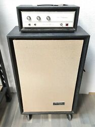 1960and039s Sears Silvertone Solid State Bass 150