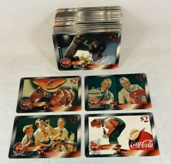 Coca-cola Sprint And03996 Phone Cards 1996 Edition 48 Different 2 Cards Unused