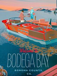 Welcome To Bodega Bay Variant Laurent Durieux Screen Print/poster In Hand
