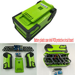 Battery Case Cover Pcb For Greenworks Lawn Mower Cropper Grass Cutter40v Battery