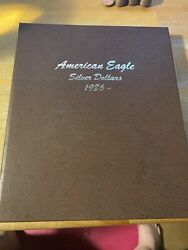 37 Coin Complete Set Silver American Eagles In Dansco Us Dollar Both 2021 Versio