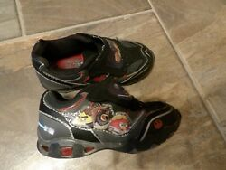 Angry Birds Shoes Toddlers Black Size 9 Lights Up Used