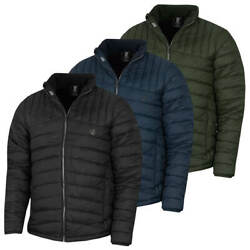Dare 2b Mens Diversion Water Repellent Quilted Jensen Button Jacket 69 Off Rrp