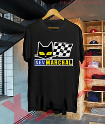 New Limited Sev Marchal T-shirt Classic Car Motorcycle Logo T Shirt Usa Sz S-xxl
