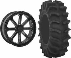Mounted Wheel And Tire Kit Wheel 20x6.5 4+3 4/156 Tire 34x9-20 8 Ply