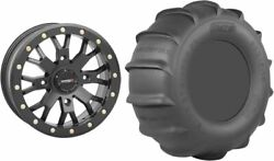 Mounted Wheel And Tire Kit Wheel 15x10 5+5 4/156 Tire 32x13-15 4 Ply