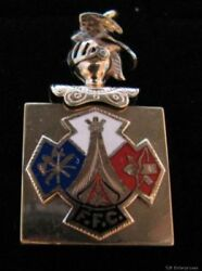 Order Of Redmen Tote Vintage Fob Pendant - Collectible Fraternal