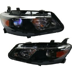 Headlights Lamps Set Of 2 Left-and-right For Chevy 84324411, 84324410 Pair
