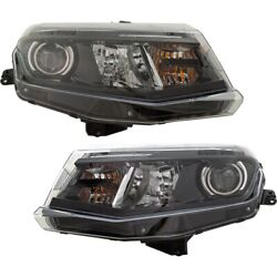 Pair Headlights Lamps Set Of 2 Left-and-right For Chevy 84078851 84244102