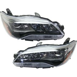 Pair Headlights Lamps Set Of 2 Left-and-right 8111006c80, 8115006c80 Lh And Rh