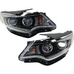 Headlights Lamps Set Of 2 Left-and-right 92102d5080 92101d5080 Lh And Rh Pair