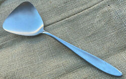 1 Table Serving Spoon Towle Mark Vii Supreme Cutlery Stainless Japan Satin Mcm
