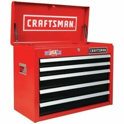 Craftsman 2000 Series 26-in W X 19.75-in H 5-drawer Steel Tool Chest Red