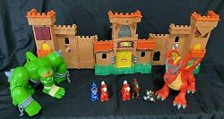 Fisher Price Imaginext Eagle Talon Medieval Castle Play Set Lights And Sounds