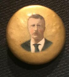 1904 1 1/4 Theodore Roosevelt Picture Pinback