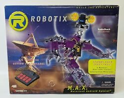 Rare Vintage 2000 Robotix Max Motorized Android Xplorer Robot Building Kit New