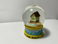 Beach House Snow globe Figurine House On The Beach Small Snow Globe $11.99