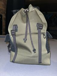bottega veneta Canvas And Leather Backpack $600.00