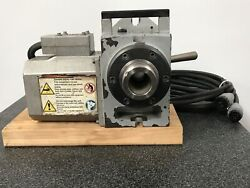 Haas Ha5c Rotary Table 2014 Brushless Motor Hand Lever Collet Closer Cables