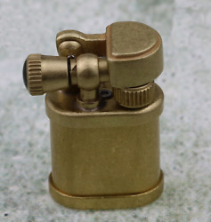 New Pure Brass Cigarette Lighters Vintage Small Kerosene Collectible Lighters