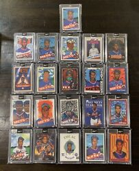 Topps Project 2020 Dwight Gooden Complete 20 Card Set Investment Beck Vides Dr K