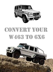 W463 To 6x6 Mercedes Benz G-wagon Conversion Kit Different Variations Available