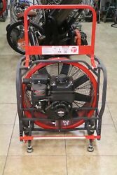 Tempest Power Blower,briggs And Stratton , 24 Xr950 Profession 208cc 9.50ft Lbs