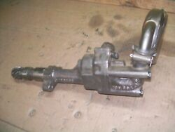Oliver 17501755180018551950t1955 Farm Tractor Oil Pump Works Great