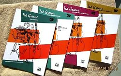 Ted Greene All 4 Of Ted's Books A Must For Every Serious Guitar Players Library