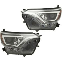 Headlights Lamps Set Of 2 Left-and-right 8114542670 8118542670 Lh And Rh Pair