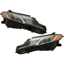 Pair Headlights Lamps Set Of 2 Left-and-right 8111006c40 8115006c40 Lh And Rh